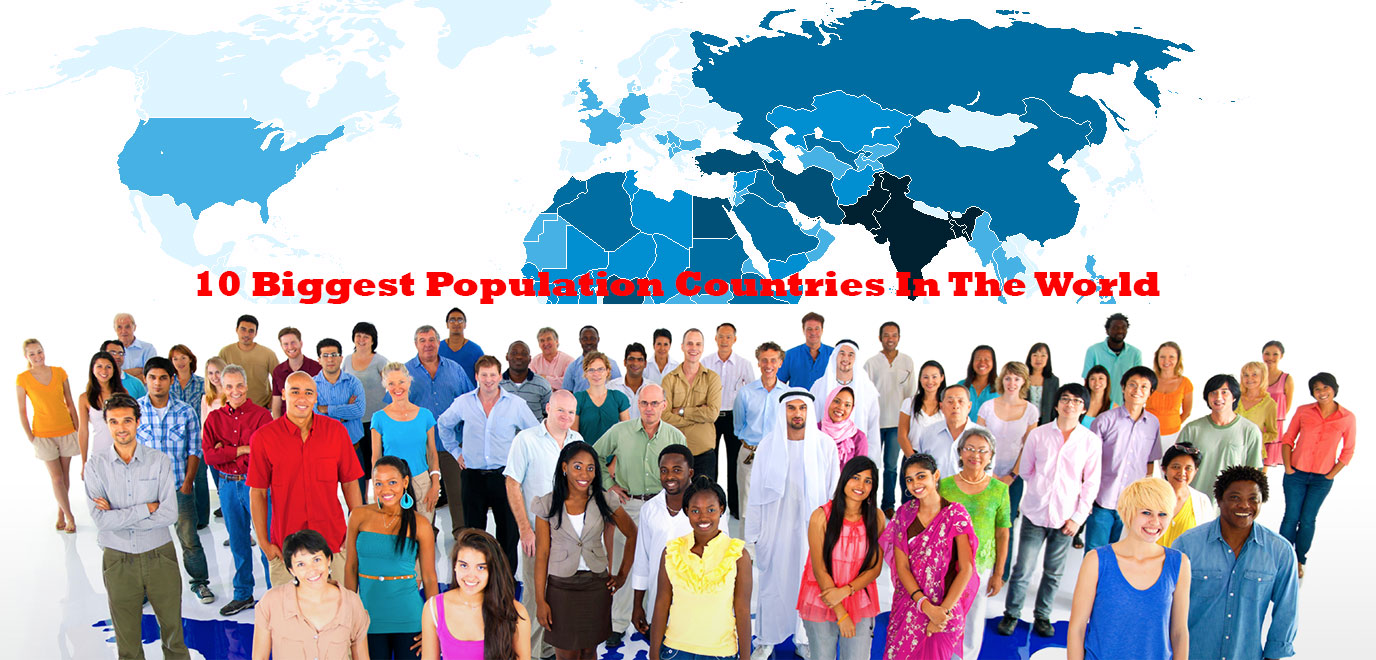 10 biggest population countries in the world
