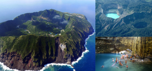 Aogashima Volcano Japan - Heaven On This Earth (1)