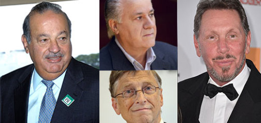 Top 5 Richest Persons On The World