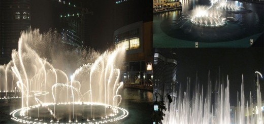 Amazing Views Of The Dubai Fountain