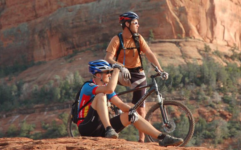 Biking at Grand Canyon beautiful global