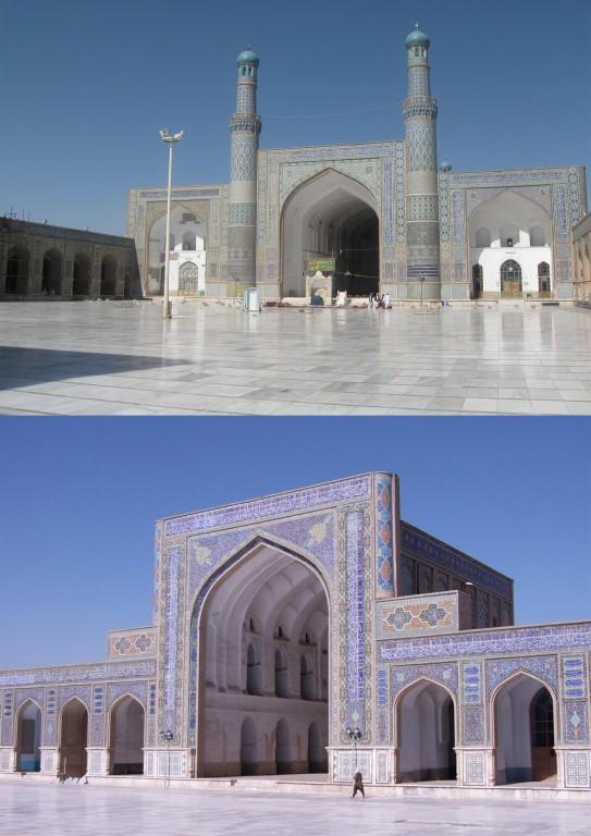 Beautiful Herat Mosque In Afghanistan