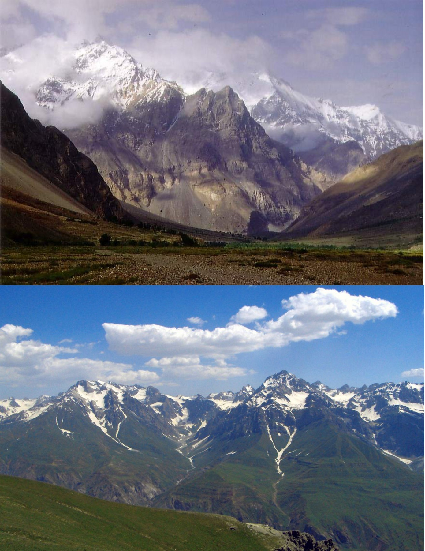 Pamir Mountains - Mountain Range In Central Asia