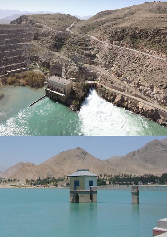 Qargha Reservoir In Afghanistan