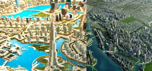 The Arabian Canal In Dubai