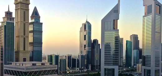 The Emirates Office Tower In Dubai