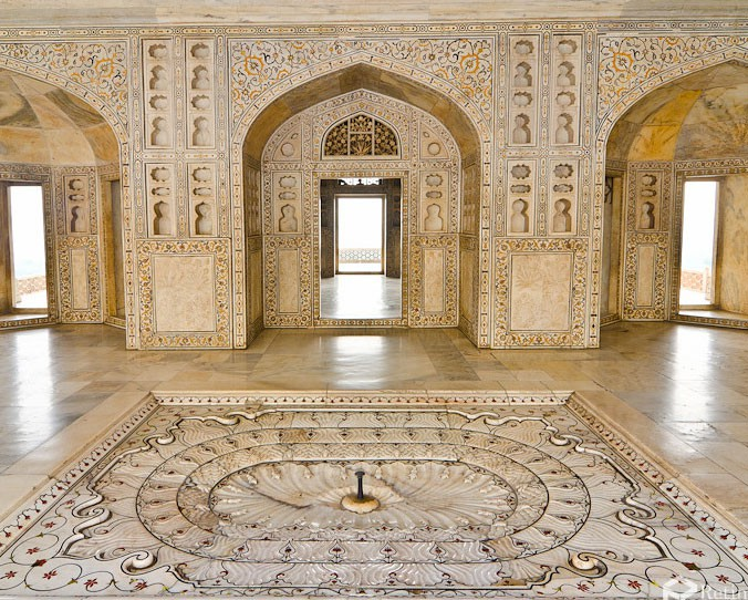The Beautiful Agra Fort India