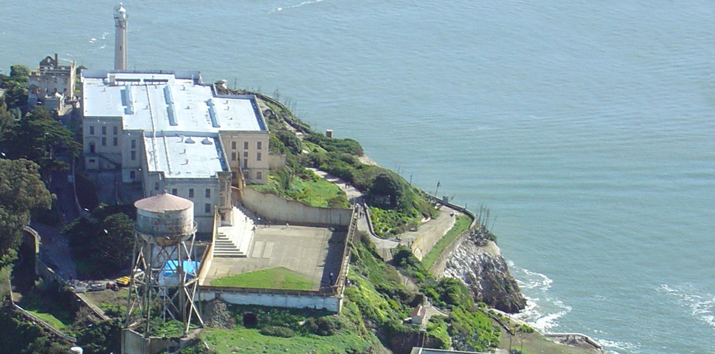 Alcatraz San Island Francisco, California, United States - Located In Water (1)