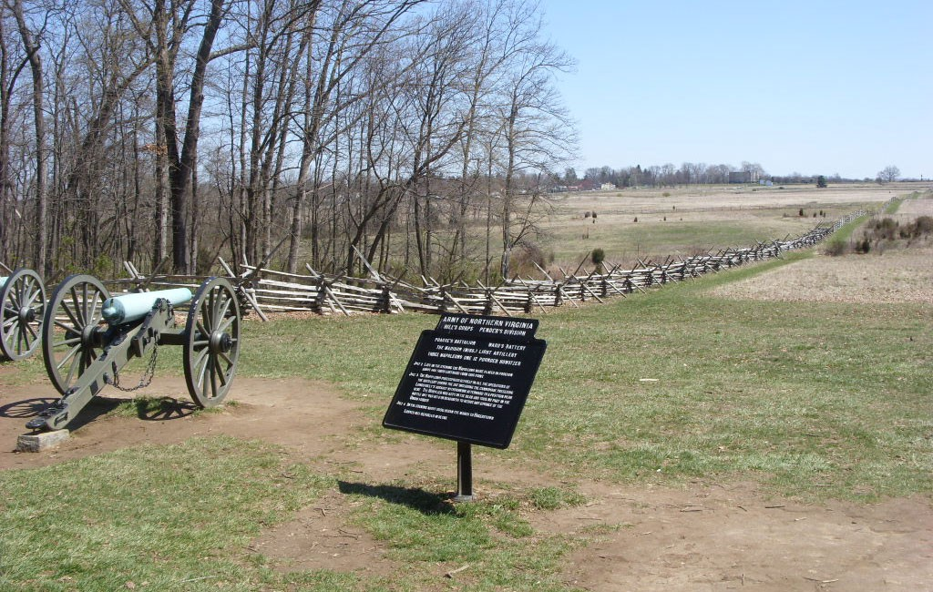The Battle Gettysburg Battlefield Pennsylvania United States