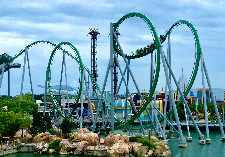 Islands of Adventures - Theme Park In Orlando, Florida USA