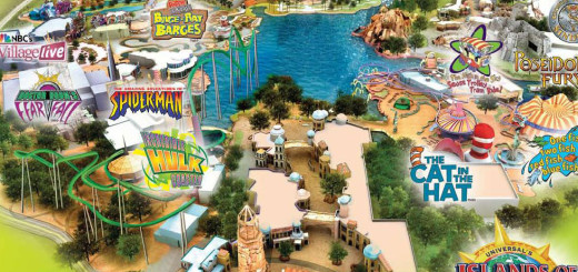 Islands of Adventures - Theme Park In Orlando, Florida USA