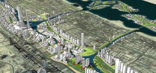 Jumeirah Garden City In Dubai Master Plan Of Big Garden City Will Be Completed In 2015 End