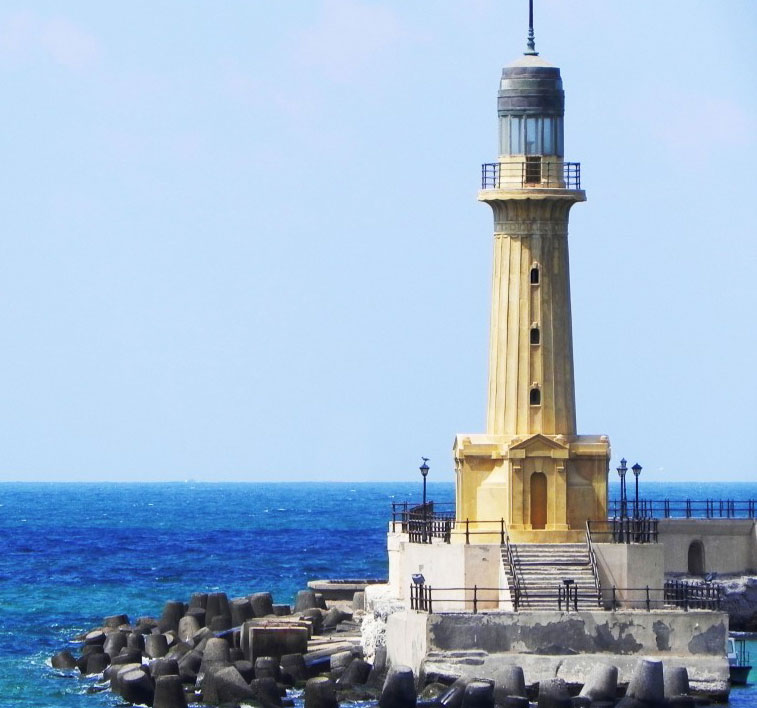 The Beautiful Lighthouse of Alexandria Egypt