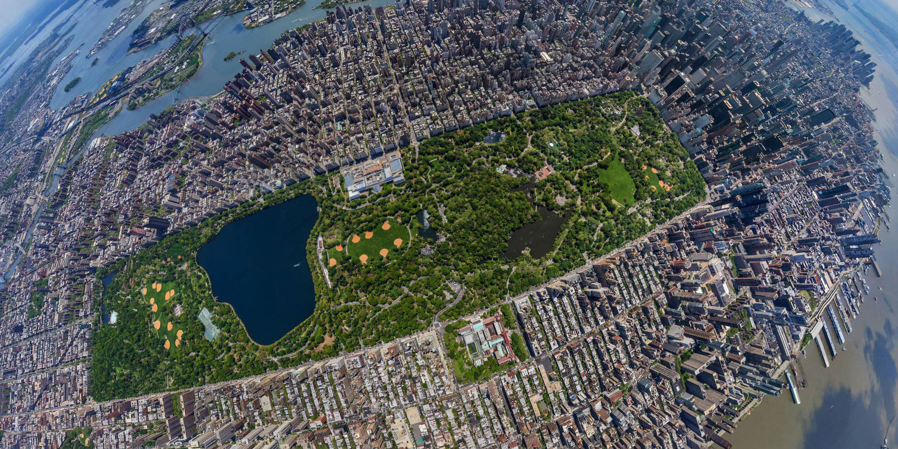 New-York--Central-Park-Airview