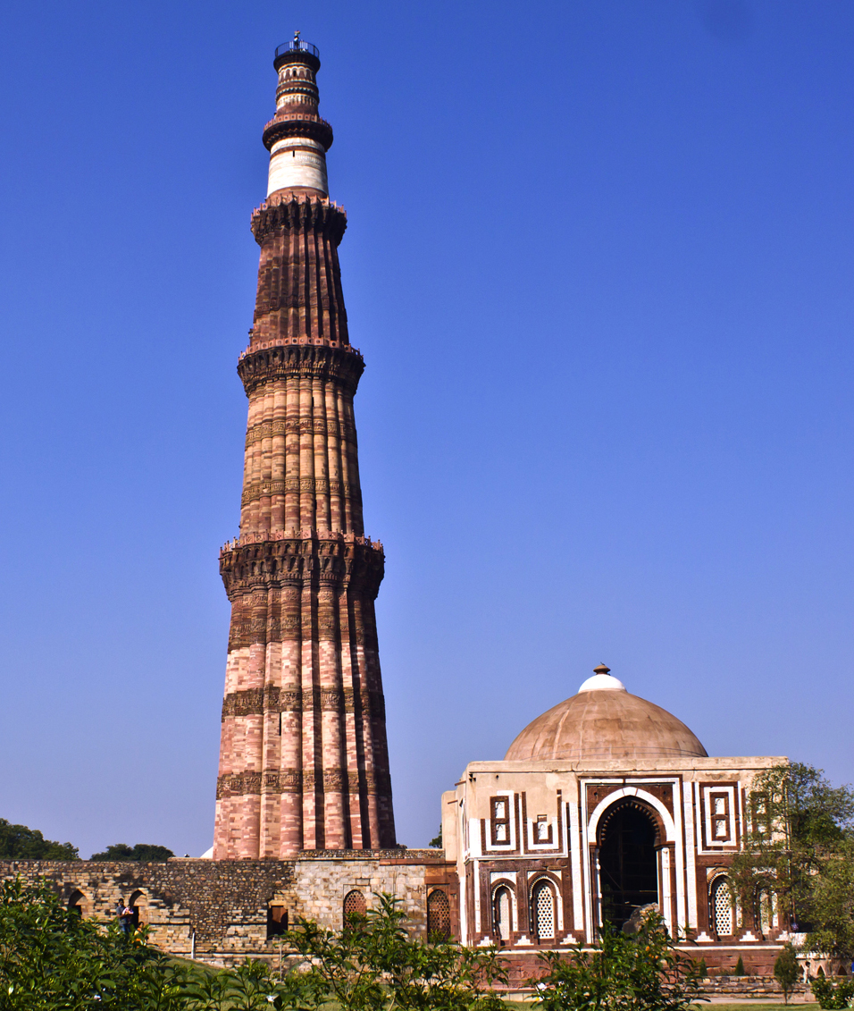 Qutub Minar 2nd Tallest Minar In India