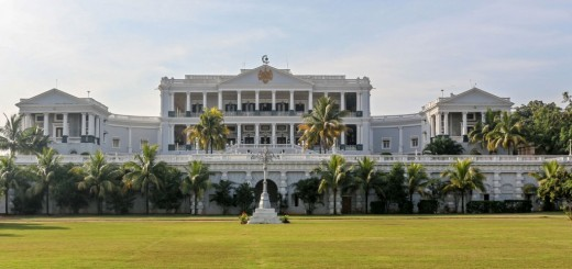 Taj Falaknuma Palace - The Finest Palace Of Andrea Palladio Style In Hyderabad, Telangana, India