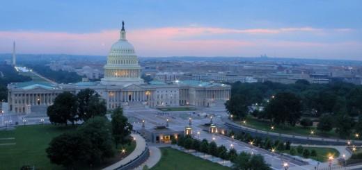 The Beautiful United States Capitol Hill, Washington, D.C.