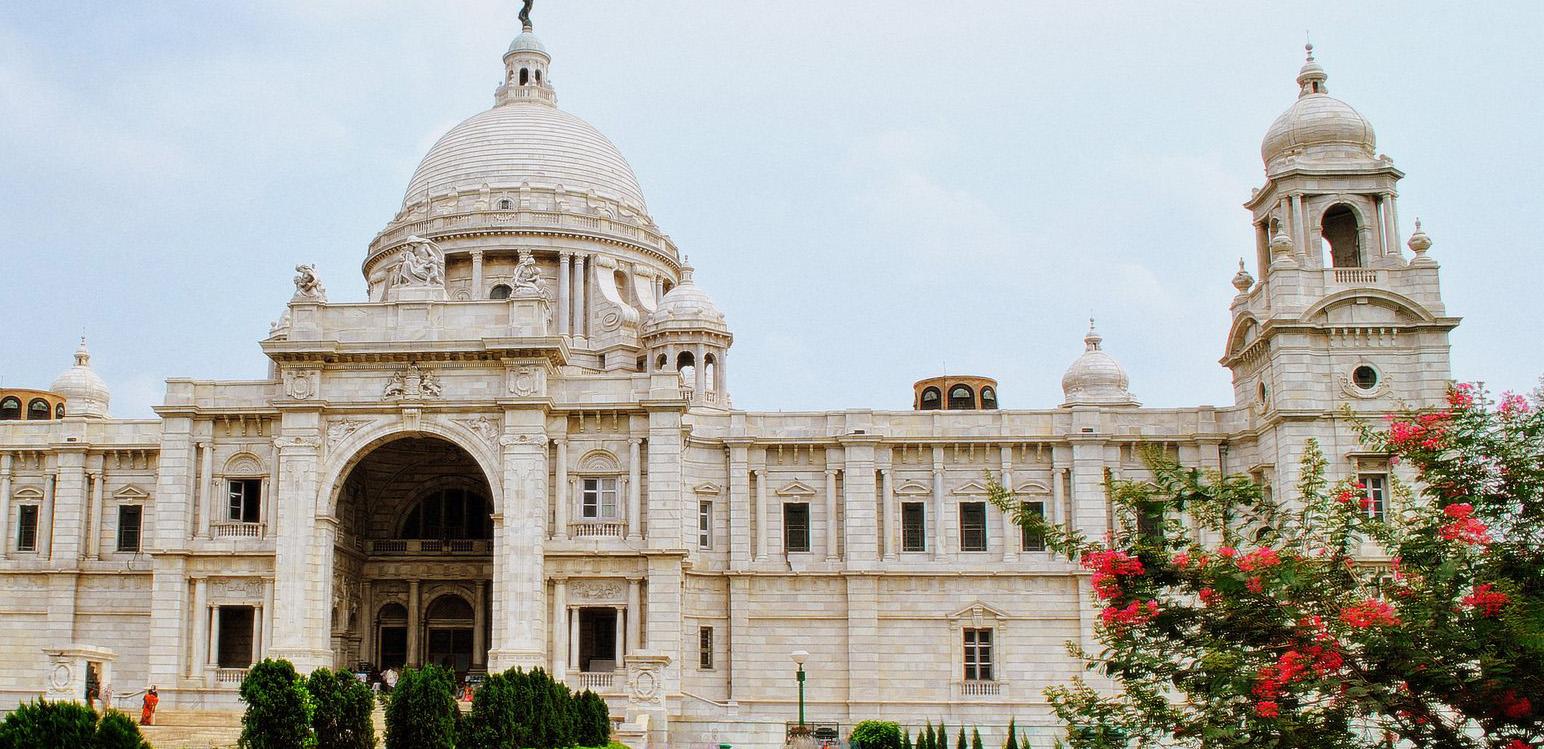 Victoria Memorial Kolkata Big Marble Building West Bengal