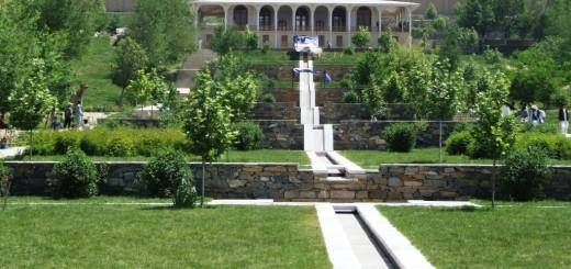 Gardens Of Babur - Historic Park In Kabul Afghanistan