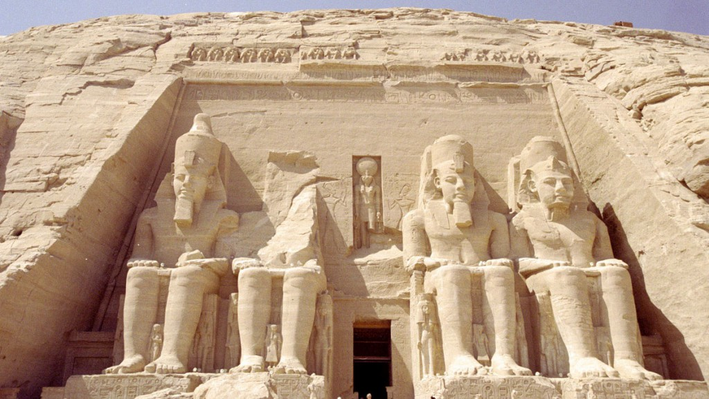 Abu Simbel Temples in Aswan Governorate, Egypt