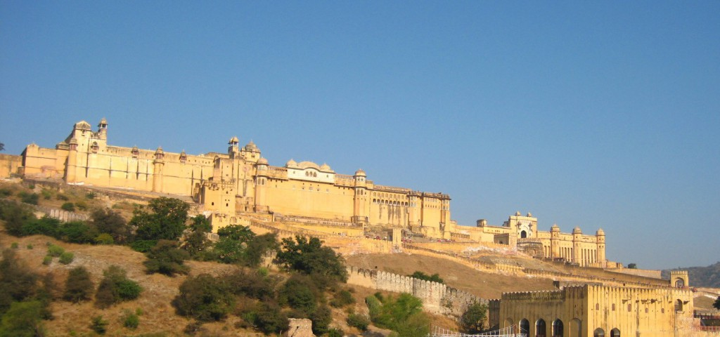 Amber Fort - Tourist Attractions - Rajasthan State, India.  (3)
