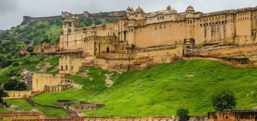 Amber Fort - Tourist Attractions - Rajasthan State, India. (2)
