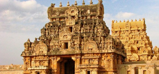 Brihadeeswarar Temple - Peruvudaiyar Kovil - Thanjavur, Indian State of Tamil Nadu (1)