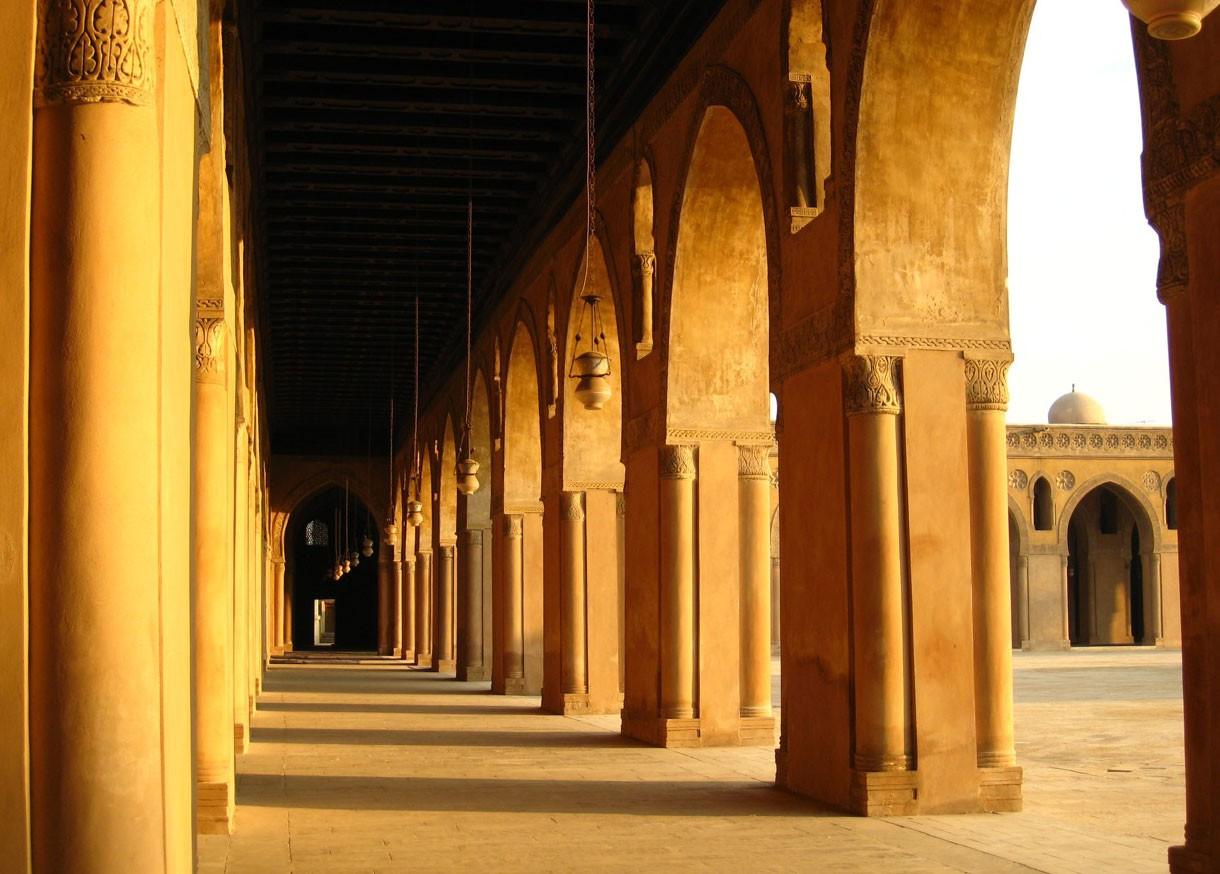 Corridor-Of-Mosque