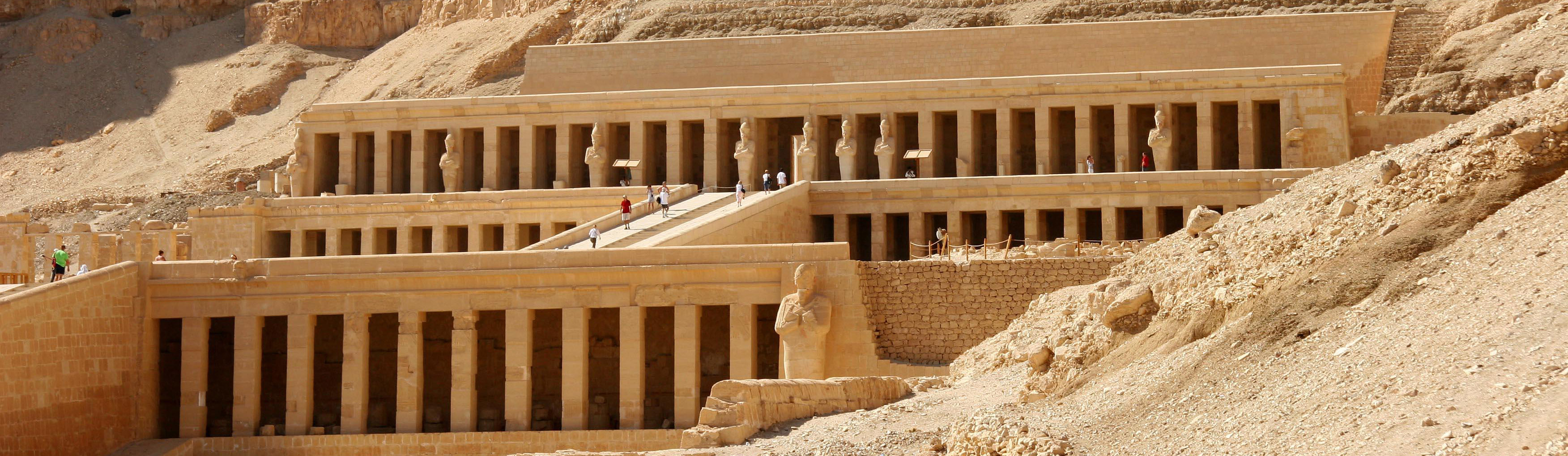 Deir el-Bahari Temples and Tombs - West Bank Of The Nile Luxor, Egypt