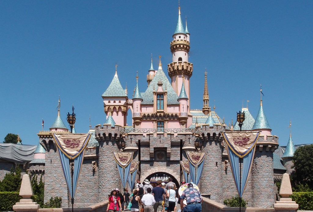 Disneyland Adventure Park In Los Angeles, California, U.S.A