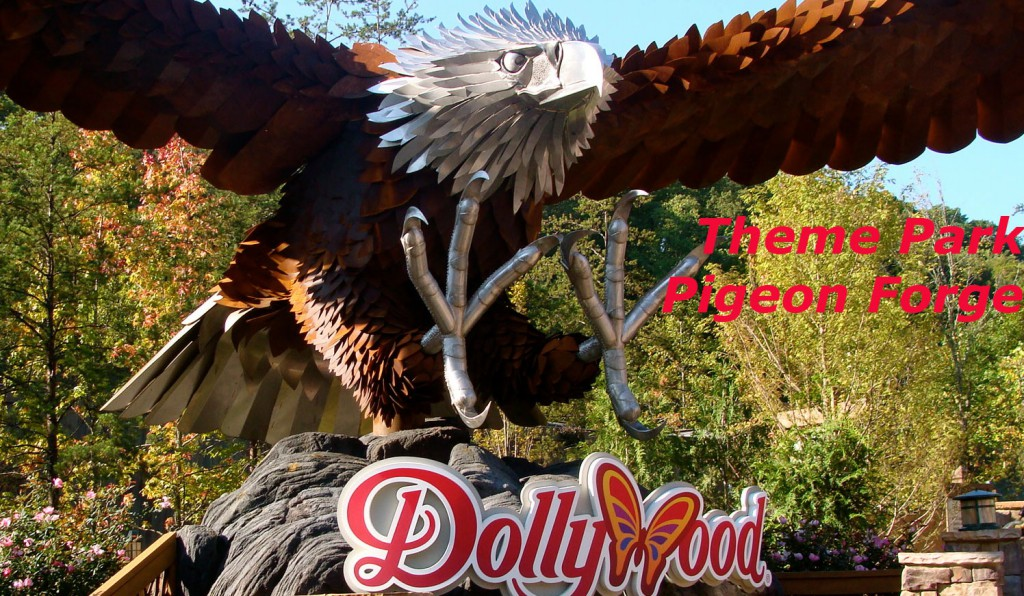 Dollywood Biggest Theme Park In Pigeon Forge, Tennessee, United States