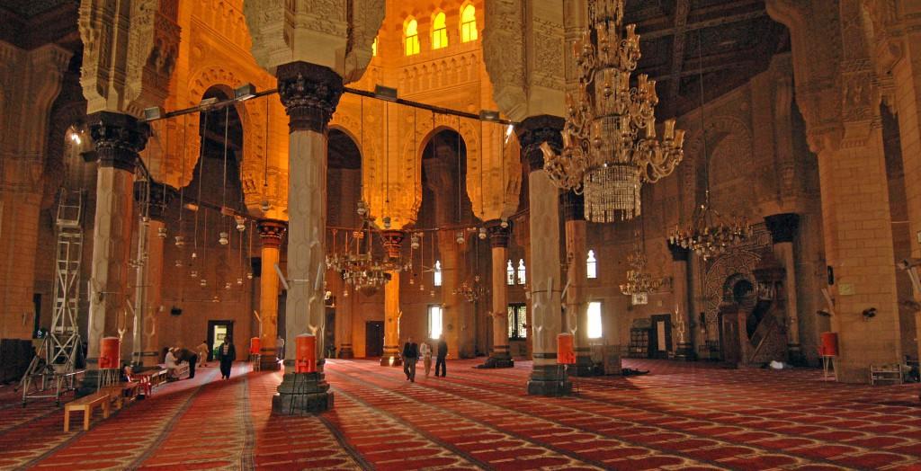 El-Mursi Abul Abbas Mosque - A Famous Muslim Mosque In Alexandria, Egypt