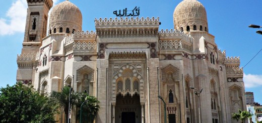El-Mursi Abul Abbas Mosque - A Famous Muslim Mosque In Alexandria, Egypt