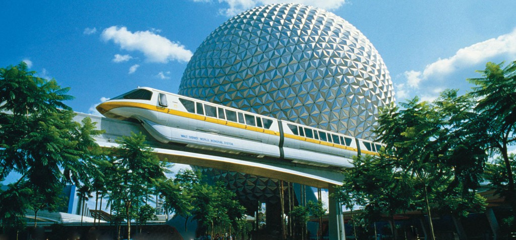 Epcot Park In Florida, U.S.A - The Most Visited Theme Park In The World