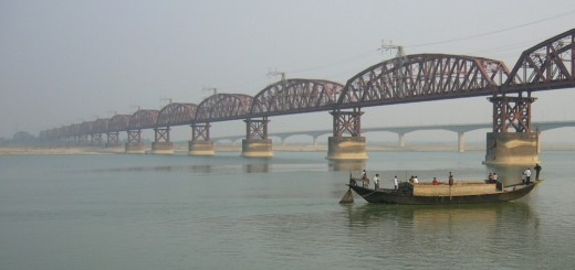 Ganges Or Ganga - Trans-Boundary River Of Asia - India and Bangladesh (1)