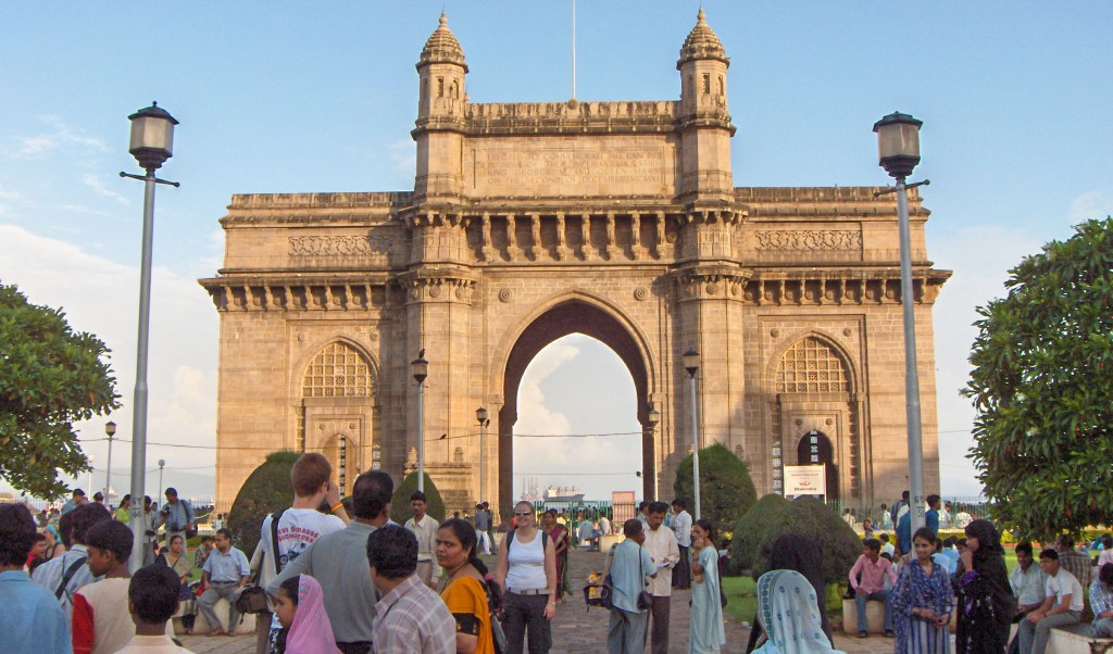 Gateway Of India In Mumbai City Of Maharashtra State