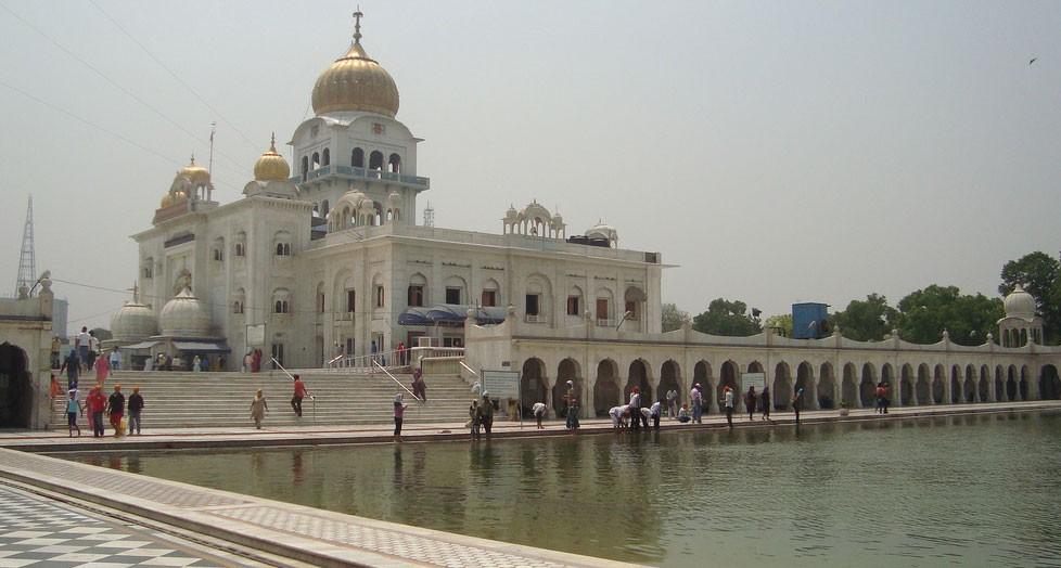Gurudwara Bangla Sahib or Sikh House Of Worship In New Delhi, India