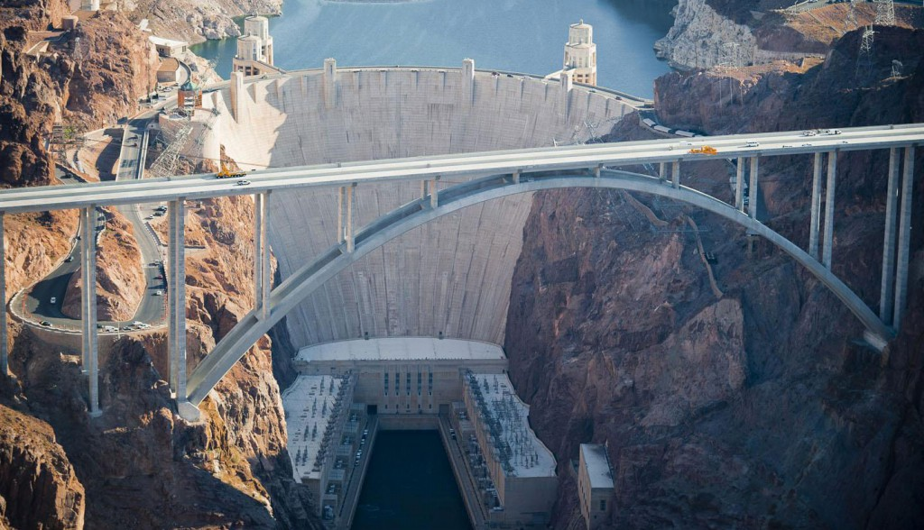 Hoover Dam or Boulder Dam In Boulder City, Nevada, Arizona, United States