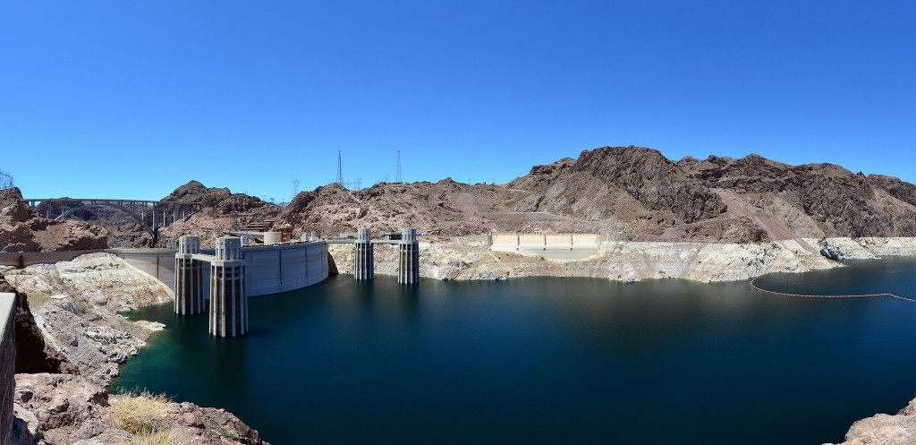 Hoover Dam or Boulder Dam In Boulder City, Nevada, Arizona, United States