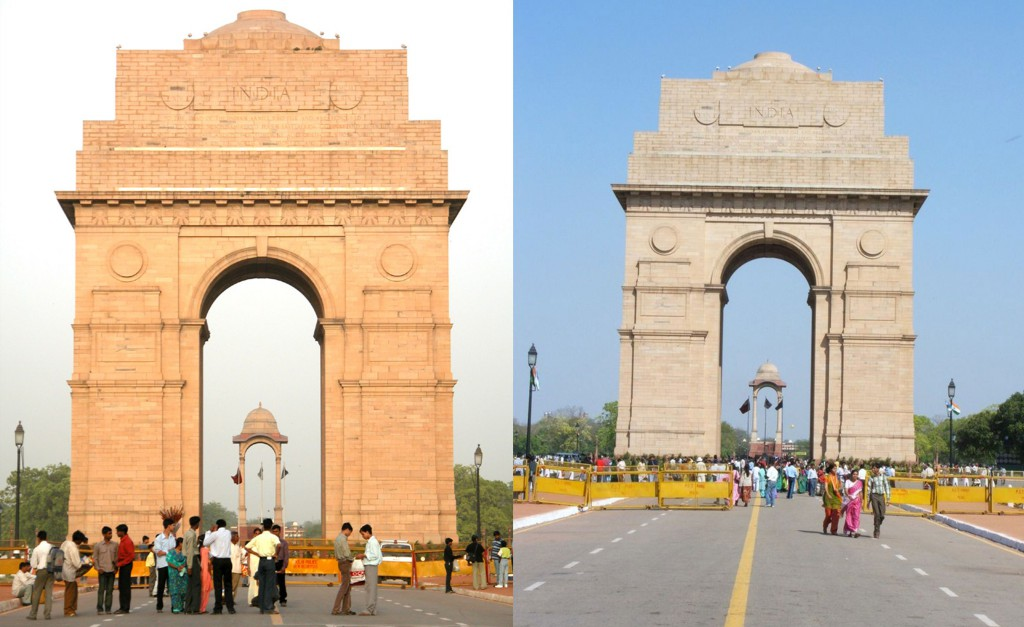 India Gate or All India War Memorial In Delhi, India