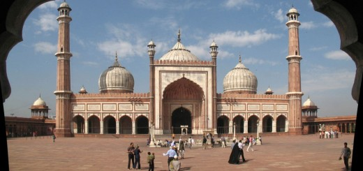 The Beautiful Jama Masjid Delhi, India