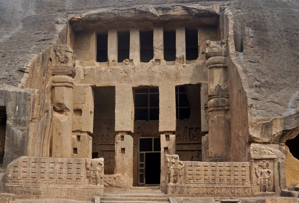 Kanheri Caves - North Of Borivali On The Western Outskirts Of Mumbai - India