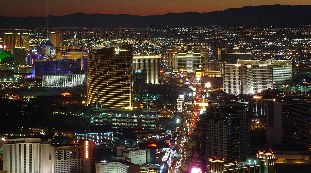 Las Vegas Strip - Most Popular Tourists Destinations In Clark County, Nevada, USA
