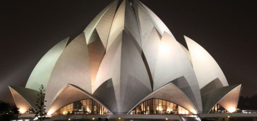 Lotus Temple Delhi, India - Mother Temple Of The Indian Subcontinent