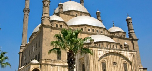 Muhammad Ali Pasha or Alabaster Mosque - The Great Mosque In Cairo, Egypt