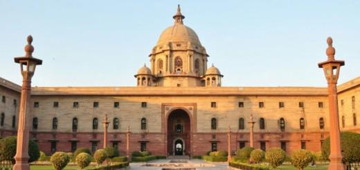 Rashtrapati Bhavan or Presidential Residence In New Delhi, India