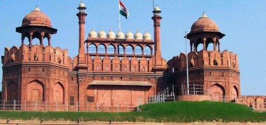 Red Fort - The Residence Of Mughal Emperor In Delhi, India