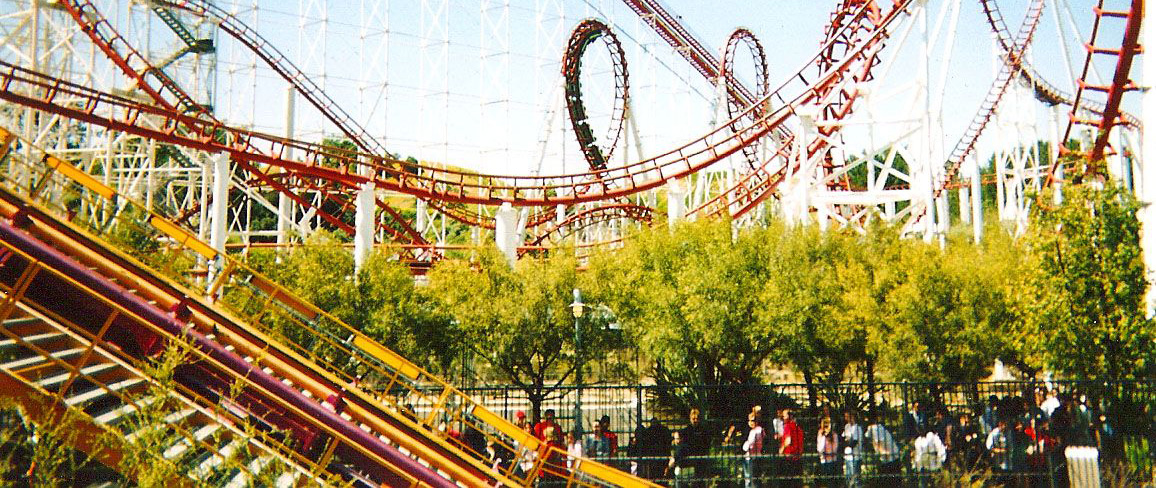 Six Flags Magic Mountain Park - Valencia, California, Los Angeles
