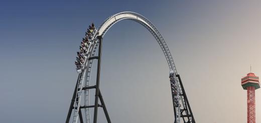 Six Flags Magic Mountain Park - Valencia, California, Los Angeles