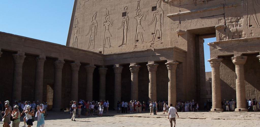The Beautiful Temple of Edfu Egypt